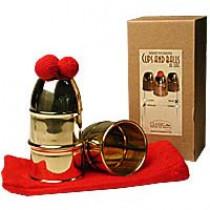 Cups & Balls Brass Deluxe by Bazar de Magia - Becherspiel Messing