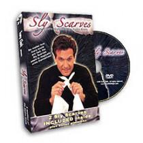 Sly Scarves by Tony Clark (DVD) + Silks