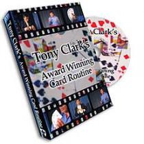 Tony Clark's Award Winning Card Routine (DVD)