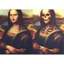 Portrait Mona Lisa (26 x 38 cm)