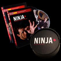 Ninja+ Deluxe SILVER (Gimmicks & DVD) by Matthew Garrett