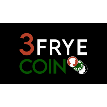 3 Fryed Coin (Gimmick and Online Instructions) by Charlie Frye and Tango Magic