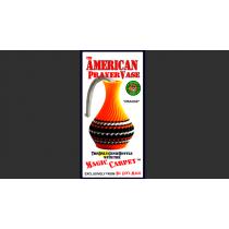 The American Prayer Vase Genie Bottle ORANGE by Big Guy's Magic