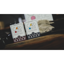 Card College (Red) Playing Cards by Robert Giobbi and TCC Presents