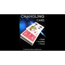 CHANGLING CARD RED by Marco Markiewicz