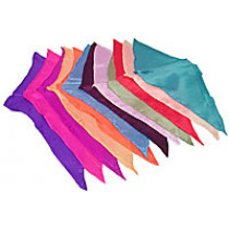 12 inch Diamond Cut Silks - 12-pack (Assorted Colors) by Vincenzo Di Fatta - Seidentuch