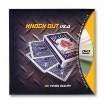 Knock Out v2.0 (Includes Cards) by Peter Eggink - DVD