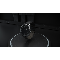 Infinity Watch V3 - Silver Case Black Dial / PEN Version (Gimmick and Online Instructions) by Bluether Magic