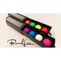Perfect Manipulation Balls (1.7 Multi color; Red Green Orange Yellow) by Bond Lee
