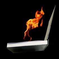 FIRE BOOK (Hot Book) by Premium Magic