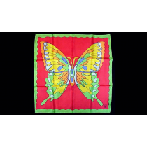 """Rice Picture Silk 18"""" (Butterfly) by Silk King Studios - Seidentuch"""