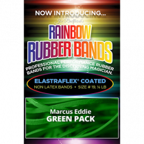Joe Rindfleisch's Rainbow Rubber Bands (Marcus Eddie - Green Pack Size 19) by Joe Rindfleisch