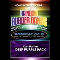 Joe Rindfleisch's Rainbow Rubber Bands (Dan Harlan - Deep Purple Size 19) by Joe Rindfleisch