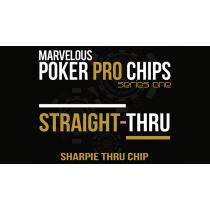 Straight Thru - Sharpie Thru Chip (Gimmicks and Online Instructions) by Matthew Wright