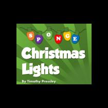 Super-Soft Sponge Christmas Lights by Timothy Pressley and Goshman