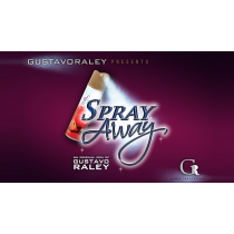 SPRAY AWAY (Gimmicks and Online Instructions) by Gustavo Raley