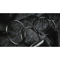 "4"" Linking Rings (Black) by TCC"