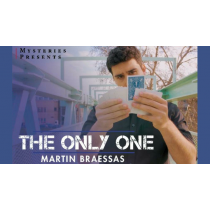 The Only One Blue (Gimmicks and Online Instructions) by Martin Braessas