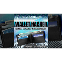 Wallet Hacker BLUE (Gimmicks and Online Instruction) by Joel Dickinson