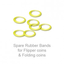 Spare Rubber Bands for Flipper coins & Folding coins - (25 per package)
