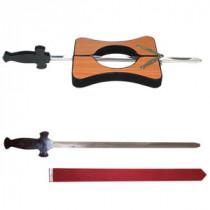Sword trough neck deluxe - wood
