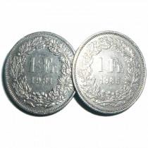 Double side 1 Francs