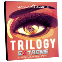 Trilogy Extreme (Gimmick and DVD) by Brian Caswell and Alakazam Magic