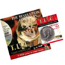 TUC Pure Silver Half Dollar (w/DVD) (D0145) by Tango