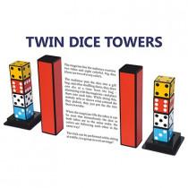 Twin Dice Towers by Joker Magic