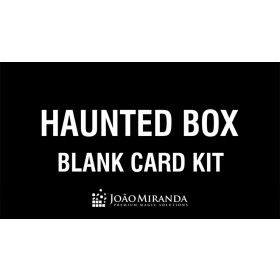 Blank Card Kit for Haunted Box by João Miranda