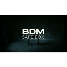 BDM Safe Box (Gimmick and Online Instructions) by Bazar de Magia