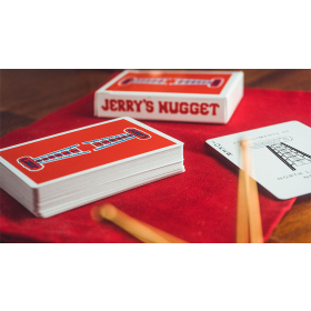 Modern Feel Jerry's Nuggets (Red Stripper) Playing Cards