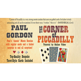 The Corner of Piccadilly (Tarot Size plus online instruction) by Paul Gordon