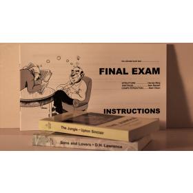 Final Exam Book Test Harvey Berg