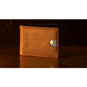 FPS Wallet Brown (Gimmicks and Online Instructions) by Magic Firm
