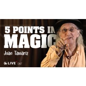 Juan Tamariz MASTER CLASS Vol. 4 - DVD